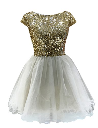 Sarahbridal Womens Sequins Homecoming SD032 product image