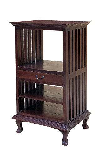 - NES Furniture NES Fine Handcrafted Furniture Solid Mahogany Wood Denver Bookcase - 52