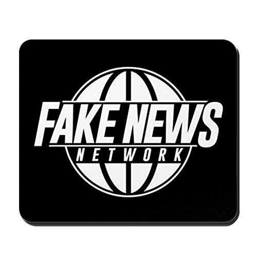 CafePress - Fake News Network - Non-Slip Rubber Mousepad, Gaming Mouse Pad -