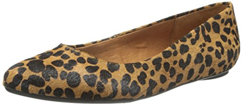Dr. scholl' S Really ballerine, marrone (Leopard), 42 EU Donna