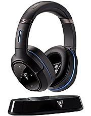 Turtle Beach Elite 800P Kabellos DTS Surround Sound Gaming Headset mit Störgeräuschreduzierung, PS4