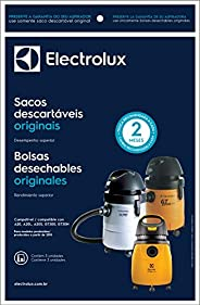Kit 3 Sacos para Aspirador de pó, 13L, Electrolux