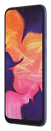 "Samsung Galaxy A10 32GB SM-A105M/DS 6.2"" HD+ Infinity-V LTE Factory Unlocked Smartphone (International Version) (Blue) (Renewed)"