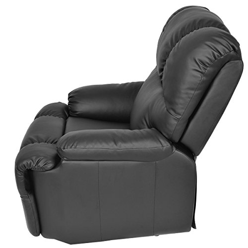Rent To Own Massage Recliner Chair With Heat And Vibrating, Gentleshower  Full Body Leather Massage