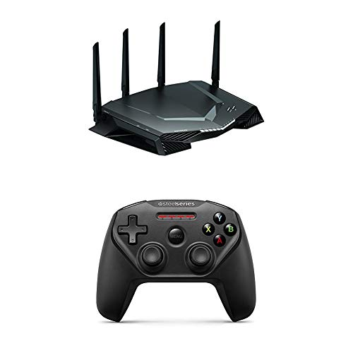 (NETGEAR XR500 Nighthawk Pro Gaming AC2600 WiFi Router with SteelSeries Nimbus Wireless Gaming Controller)