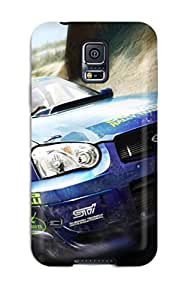 High Quality Shock Absorbing Case For Galaxy S5-subaru Rally Car In Speed