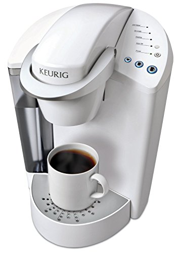 Keurig K55 Single Serve Programmable K Cup Pod Coffee Maker Coconut White