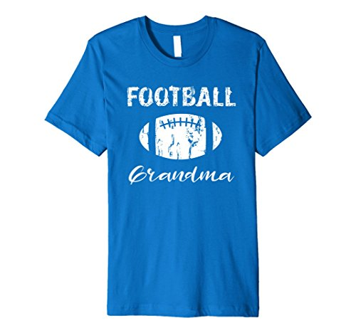 Mens Football Grandma Premium T Shirt Medium Royal Blue