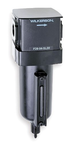 Compressed Air Filter, 250 psi, 2.9 In. W