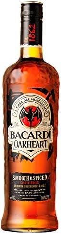 Bacardí Oakheart Smooth & amp; Aderezado 70cl bebida ...