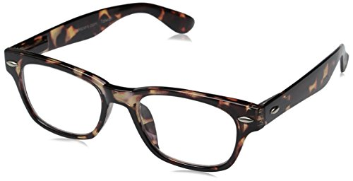 Clark Kent Glasses (Peepers Men's Clark Retro Reading Glasses,Brown,+2)