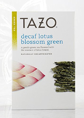 (Tazo Decaf Lotus Filter Bag Tea, 24-Count Packages (Pack of 6) )