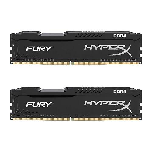 chollos oferta descuentos barato HyperX Fury Memoria RAM de 16 GB DDR4 Kit 2 x 8 GB 2666 MHz CL16 DIMM XMP HX426C16FB2K2 16 Color Negro
