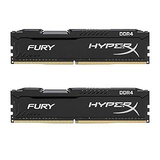 HyperX Kingston Technology Fury Black 16GB 2666MHz DDR4 CL16 DIMM Kit of 2 1Rx8 (HX426C16FB2K2/16) (B06XNPT8J9) | Amazon price tracker / tracking, Amazon price history charts, Amazon price watches, Amazon price drop alerts