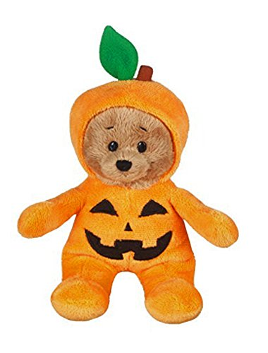 Wee Bears Costumed Teddy Bear: Jack-O-Lantern - By Ganz Ganz Soft Bear