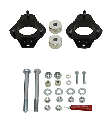 Daystar Digital PATL230PA Strut Extension Leveling Kit; 2.5 in. Lift; Incl. Pair Of One Piece Heavy Duty 1/4 in. Thick Leveling Spacers; Front Skid Plate Spacers; All Required Hardware;
