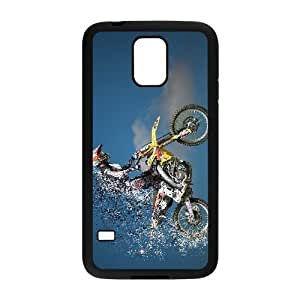 samsung galaxy s5 Case (TPU),samsung galaxy s5 Cell phone case Black for Motocross - KKHG5337454