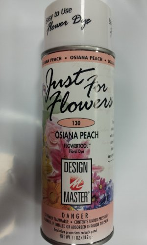 Design Master 130 Just for Flowers Spray Dye, Peach by Design Master