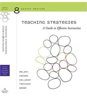 Cengage Advantage Books: Teaching Strategies: Donald C. Orlich ...