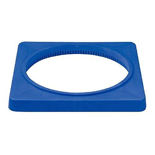 ( お徳用 20個セット)サンコー 三角コーン(パイロン/カラフルコーン) 肉厚 ブルー(青) 三甲 B01LWL2H9J