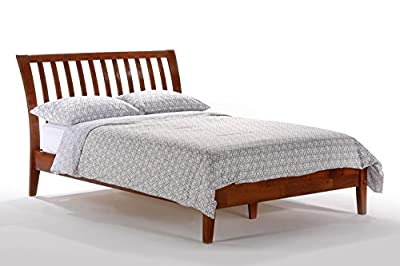Night & Day Nutmeg Platform Bed