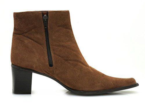 Gino Ventori Suede Ankle Boot Ladies Shoe Shoes HasZyY