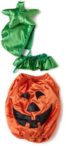 Mullins Square Pumpkin Baby Costume, Orange - 6-18 Months