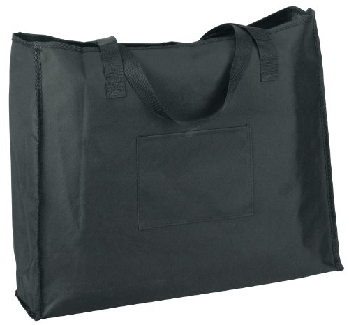 Markwort Wide Model Stadium Chair Bag, Black