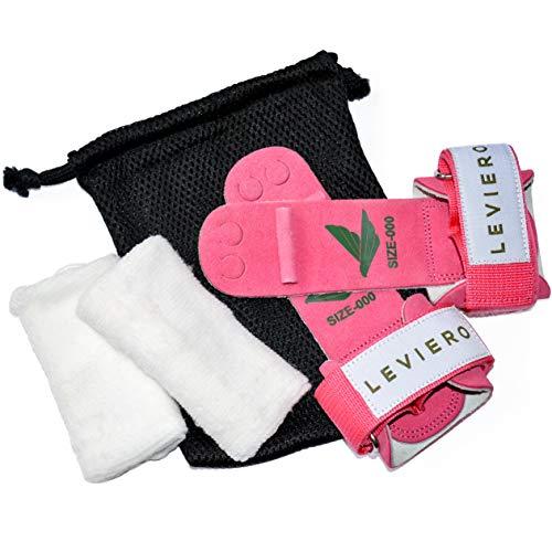 Leviero Gymnastics Grips Set Pink 0