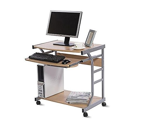 Price Tracking For: Small Space Computer Desk With Pullout