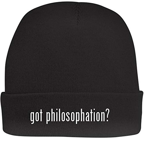 - Shirt Me Up got Philosophation? - A Nice Beanie Cap, Black, OSFA