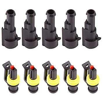 SurePromise 10 Set 3 Pin way Superseal Electricial Plug Connector Waterproof Auto Car Boot