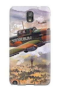 Belva R. Fredette's Shop New Style 6006526K68015333 durable Protection Case Cover For Galaxy Note 3(aircraft)
