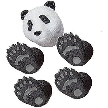 Adorable Black & White Handi Panda Bear Finger Hand Puppet