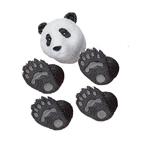 (Adorable Black & White Handi Panda Bear Finger Hand Puppet)