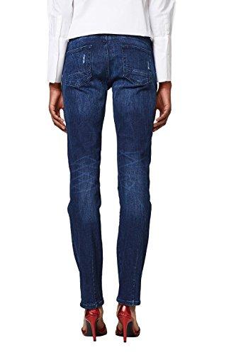 Dark edc Donna Esprit by 901 Blue Blu Jeans Wash Slim v0aPw0
