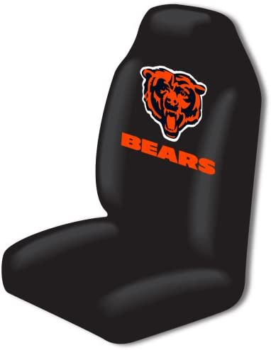 Football Chicago Bears Low Back Front Seat Covers Universal Fit LA Pair