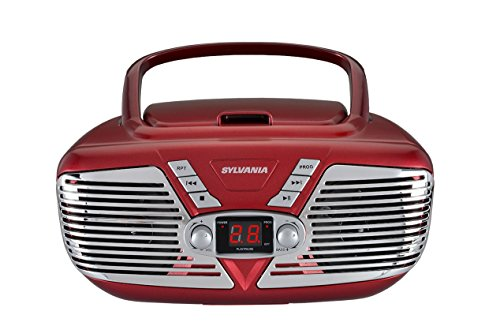 Sylvania Portable CD Boombox wit...