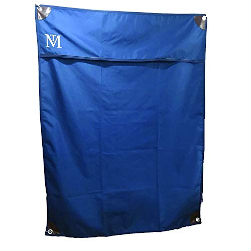 Mark Todd Deluxe Stable Door Drape (One Size) (Navy/Brown) by Mark Todd (Image #1)
