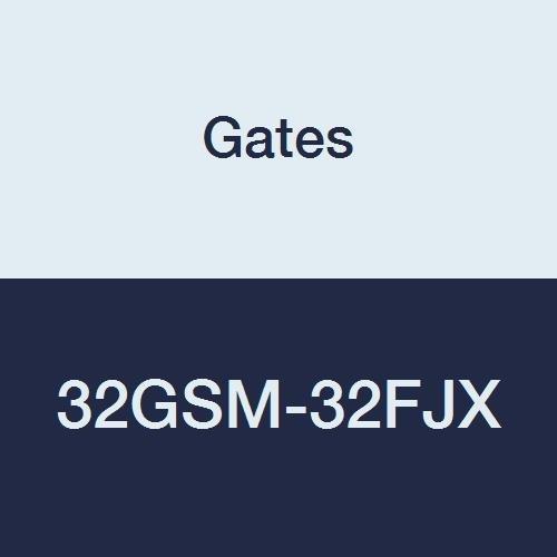37 degree Flare Swivel 2 ID 2 ID Female JIC Gates 32GSM-32FJX GlobalSpiral Series MAX Pressure Couplings