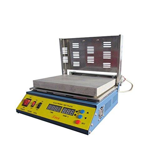 Rhegeneshop T946 110V Hot Plate PCB Preheater Preheating Oven 800W Soldering Station Welder (Pcb Plate)