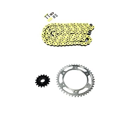 Yellow O Ring Chain And Sprocket Kit For Honda Cbr600rr 2003 2004 2005 2006