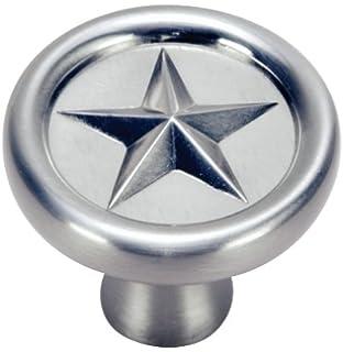 Hardware House 64-4385 Texas Star Style Cabinet Pull, Satin Nickel ...