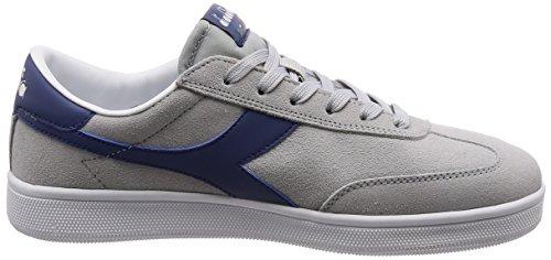 Gris Grigio Diadora Chaussures Field de Homme Blanc Gymnastique Ghiacciaio Rouge 70qU7