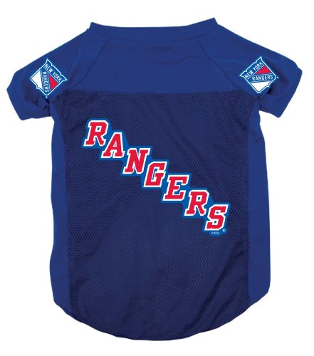 NHL New York Rangers Pet Jersey,  Small