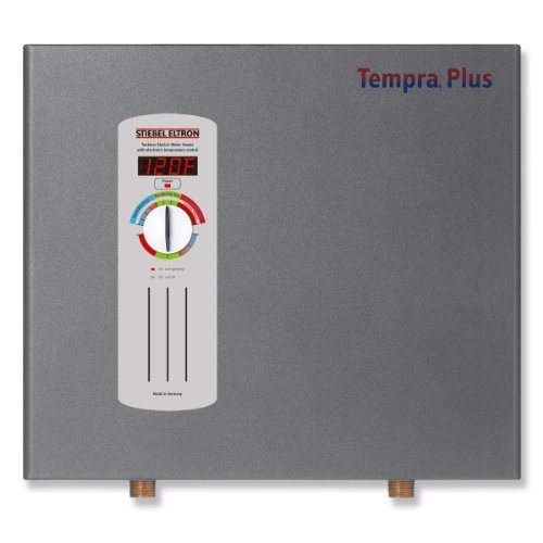 Stiebel Eltron Tempra 24 Plus Electric Tankless Whole House Water Heater, 240 V, 24 kW by Stiebel Eltron