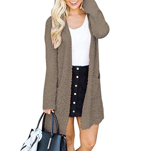 Cardigans Fille Pull Windy5 Gray Les Hiver Poches Manches Femmes Longues Automne Manteau wEBXBHxfgq