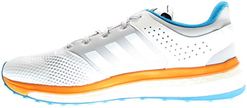Adidas Prestaties Heren Reactie 3 M Running Schoen Wit