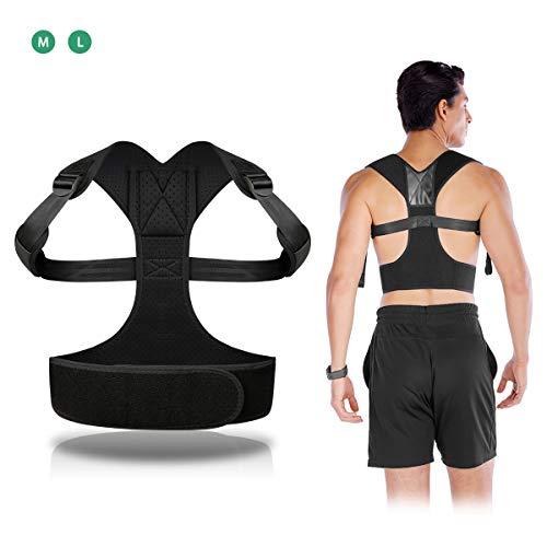 🥇 ELEPOESTAR Corrector de Postura Espalda y Hombros