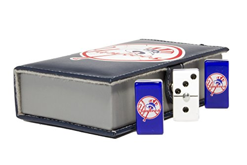 Yankees NY Domino 100% Acrylic, Faux Leather Case by ARSEL